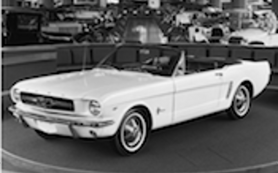 50 years of Ford Mustang